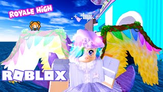 ROBLOX ROYALE HIGH Being a NINE TAILED FOX with GIANT Golden Wings! My All NEW Inventory!