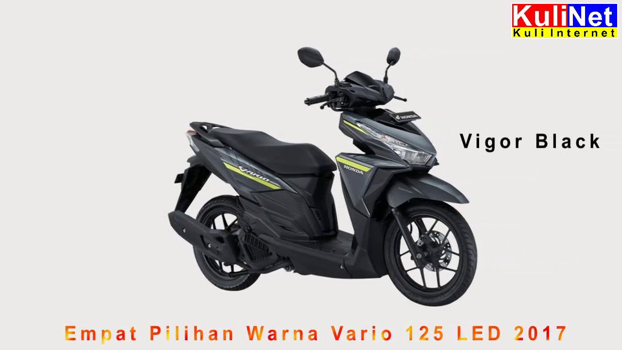 4 pilihan warna all new vario 125 esp 2017 - youtube