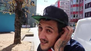 Giancarlo, 27, ist Tätowierer aus Italien und nimmt im Frankfurter Bahnhofsviertel Crack und Heroin