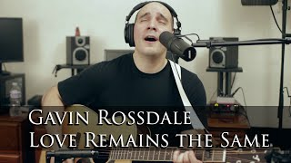 Love Remains the Same - Gavin Rossdale (Acoustic Cover Version by Mike Peralta)