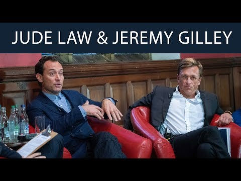 Jude Law & Jeremy Gilley | Peace One Day | Oxford Union - YouTube