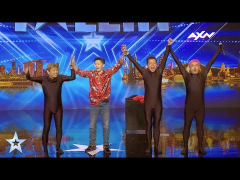 3GagaHeads Judges' Audition Epi 2 Highlights | Asia's Got Talent 2017