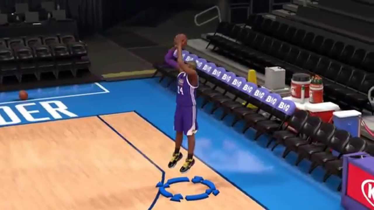 NBA 2K14 better shot base for Kobe Bryant - YouTube