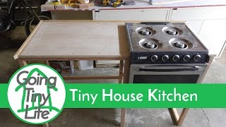 Tiny House Build - Kitchen Build Update