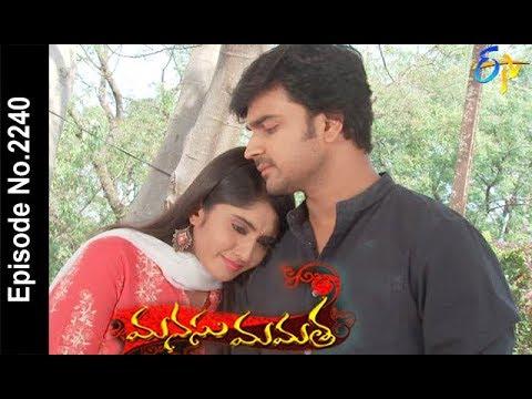 Manasu Mamata | 27th  March 2018   |Full Episode No 2240| ETV Telugu