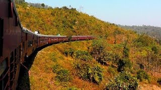 A Spectacular Journey aboard the Barak Valley Exp. - Part 1 (Feb. 25, 2013)