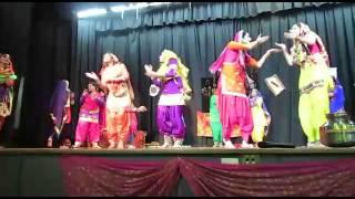 Viraasat Folk Academy Sydney Teeyan Giddha Bowman Hall Blacktown 2014 part 3