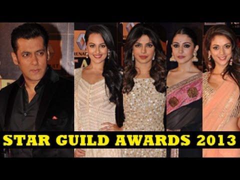 Star Guild Awards 2013 - Salman Khan, Anushka Sharma, Sonakshi Sinha