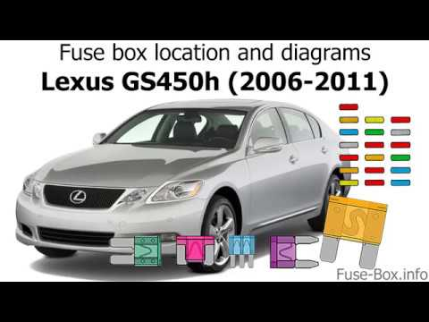 lexus is 300 fuse box fuse box location and diagrams lexus gs450h  2006 2011  youtube  fuse box location and diagrams lexus