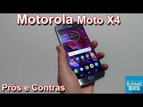 Motorola Moto X4 - Prós e Contras