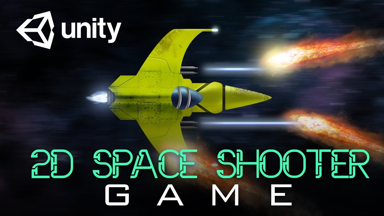 How To Create A Space Shooter Game | Unity2D Tutorial For Beginners