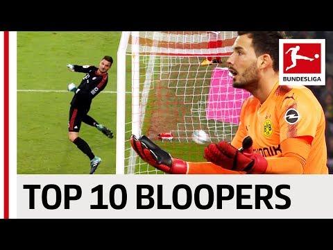 Top 10 goalkeeper bloopers 2017/18 so far ...