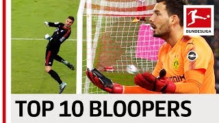 Top 10 Goalkeeper Bloopers 201718 So Far