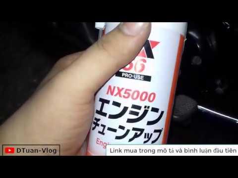Cảm Nhận Sau Khi Vệ Sinh Buồng đốt Xe Bằng NX5000 | DTuan-Vlog