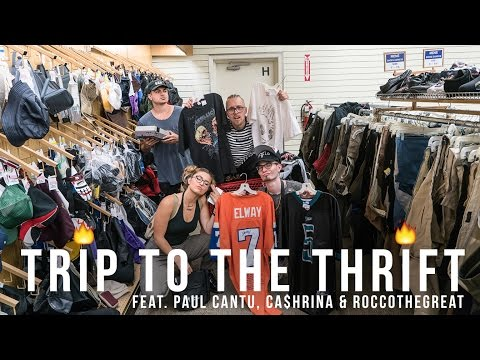 Trip To The Thrift #50   Thrifting in NEW YORK feat. Paul Cantu, Ca$hrina, & Roccothegreat
