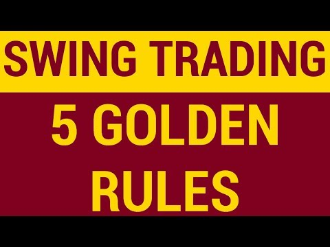 5 Golden Rules of Swing Trading   HINDI
