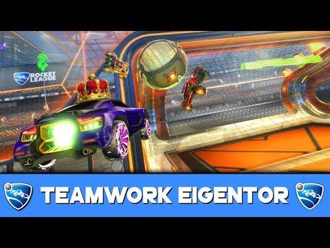 TEAMWORK EIGENTOR 🚀 Rocket League German Gameplay thumbnail