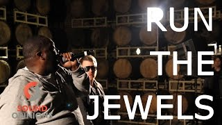 """Run The Jewels perform """"Angel Duster"""" (Live on Sound Opinions) [Explicit]"""