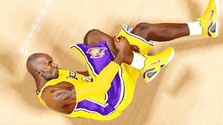 NBA 2k15 MyCAREER Gameplay S2 - Kobe Bryant Serious Injury - Career Over? 20-20-20 Challenge