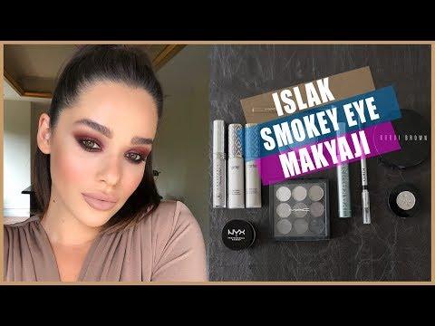 Islak Smokey Eye Nasıl Yapılır?