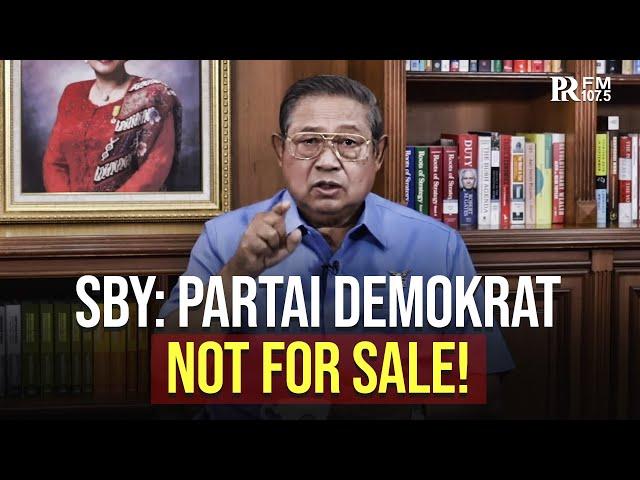 SBY Tegaskan Partai Demokrat Tidak untuk Diperjual Belikan