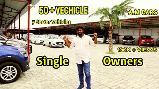 50+ Single Owner Vehicles | 7 Seater Vehicles New Collection | #UsedCars | #SecondhandCars |A.M Cars