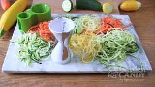 Garden Candy Vegetable Spiral Slicer Comparison