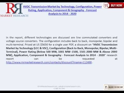 Global HVDC Transmission Market 2020 - Overview and Trend Analysis