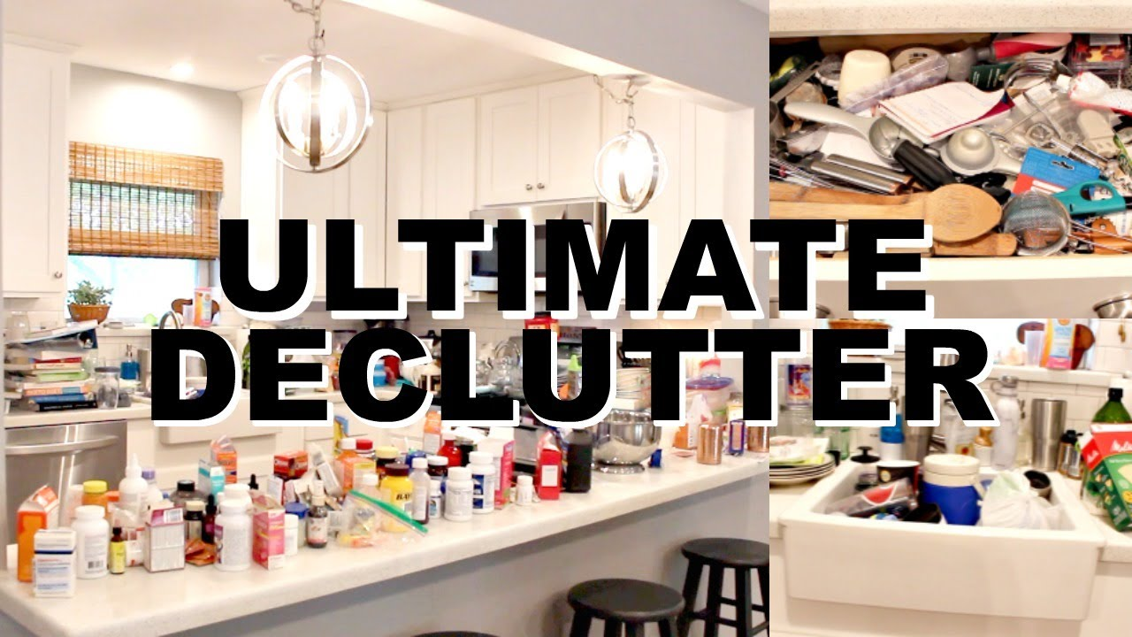 Download ULTIMATE DECLUTTER WITH ME! KITCHEN DECLUTTER & ORGANIZATION | CLEANING MOTIVATION