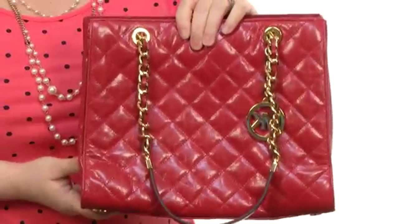 b0718ccc6ba5c2 MICHAEL Michael Kors - Susannah Medium Tote SKU:8469553 - YouTube
