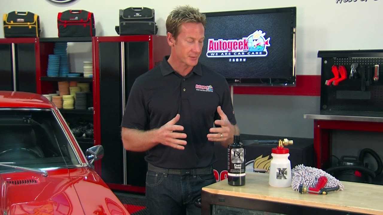Car Wash Guide, Car Wash how to - easy steps to shampoo and