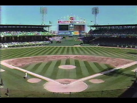 September 30, 1990 - Pre-Game of the Final Contest at Chicago