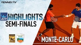 Highlights: Bopanna/Cuevas Advance To 2017 Monte-Carlo Doubles Final