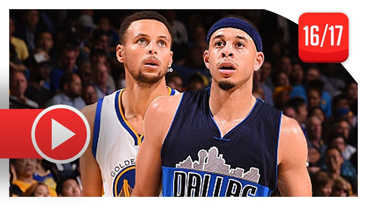 8d7454de25d0 Stephen Curry vs Seth Curry BROTHERS Duel Highlights (2016.11.09) Warriors  vs Mavericks - SICK! - YouTube