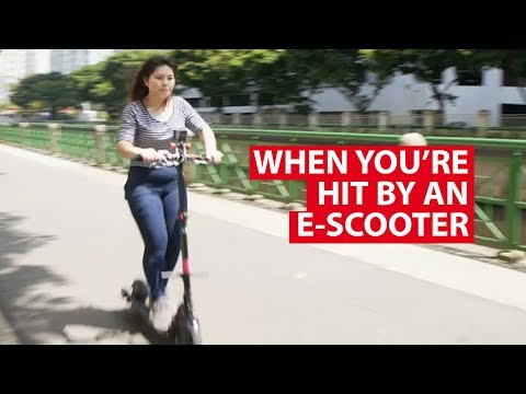 When You're Hit By An E-Scooter: The Physics Behind It | Talking Point | CNA Insider