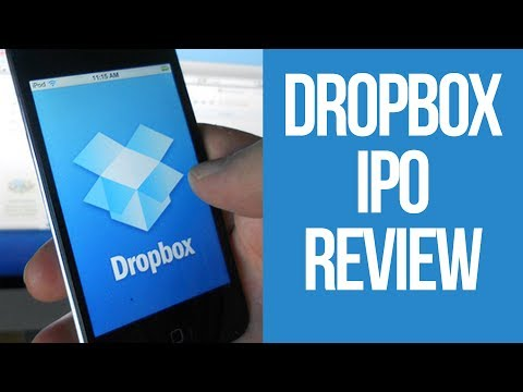 Dropbox files for IPO | Dropbox IPO in the stock market | Dropbox Stock Symbol DBX