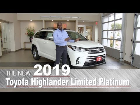 New 2019 Toyota Highlander Limited Platinum | Mpls, St Paul, Brooklyn Center, Coon Rapids, MN