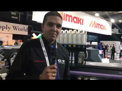 Facebook video of Graphix Supply World At the 2017 JHB Sign Africa Expo