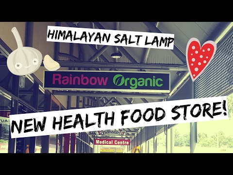 New Health Food Store | Himalayan Salt Lamp & Why Everyone Should Have Them | Penrith, Australia