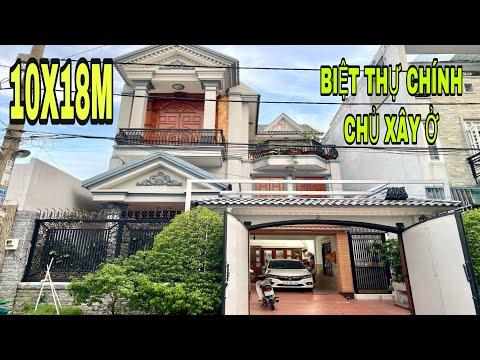 Bá nhà quận 12 (464) nhà biệt thự chính chủ xây ơ cần bán gấp tại đường dương thị mười