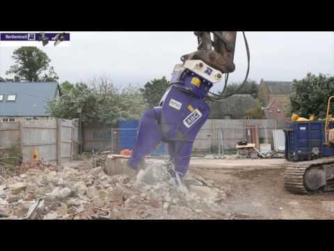 Northerntrack demolition attachments