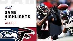 Seahawks vs. Falcons Week 8 Highlights   NFL 2019