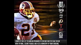 Madden 18 How Many Tokens Are Needed To Upgrade LT, Sean Taylor And Champ Bailey To 99 Overall