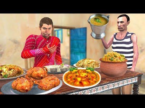 Waiter Restaurant   Hindi Kahaniya Funny Comedy Video