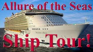 Royal Caribbean | Allure of the Seas - Complete In Depth Walking Tour!
