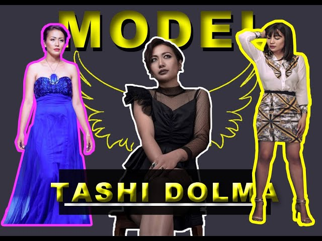 Tashi Dolma, first Tibetan runway model in Nepal