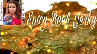 Spicy Cambodian Beef Jerky