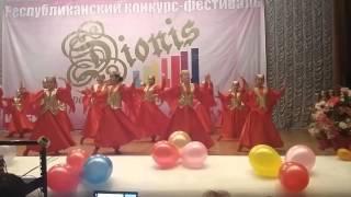 Узбекский танец коллектив