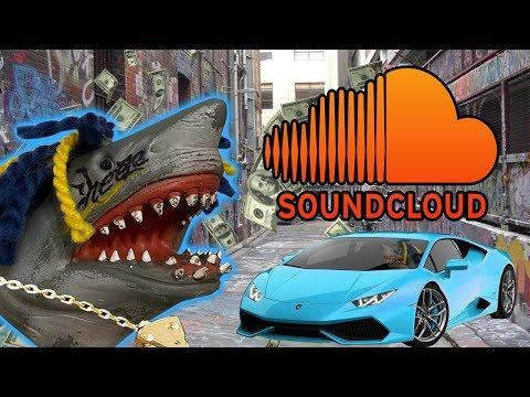 SHARK PUPPET BECOMES A SOUNDCLOUD RAPPER!!!!!