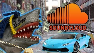 SHARK PUPPET BECOMES A SOUNDCLOUD RAPPER!!!!!